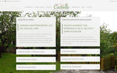 Nuevo Diseño Web – Residencia Castiello, Gijón